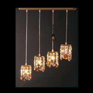 Lineal aros cristal/ambar – LINEAL 4/L