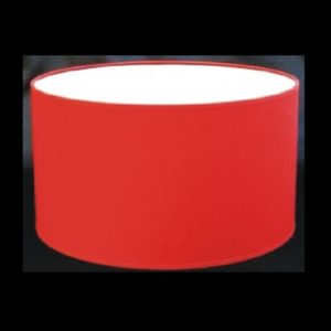 Pantalla cilindro rojo