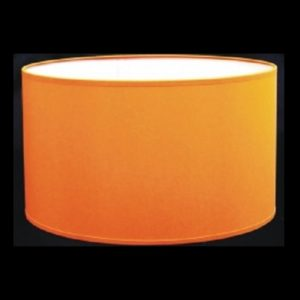 Pantalla cilindro naranja