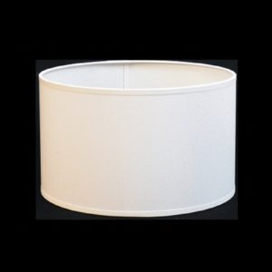 Pantalla cilindro blanco