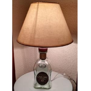 Sobremesa lámpara botella Cardhu
