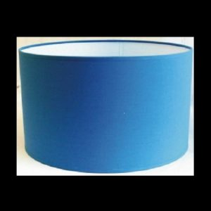Pantalla cilindro azul