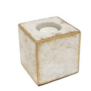 Sobremesa Cubo Piedra Decó