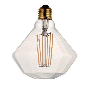 Diamante LED Vintage Decó Claro