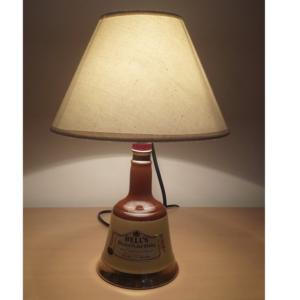 Sobremesa lámpara botella Bells