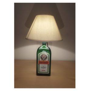 Sobremesa lámpara botella Jagermeister
