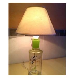 Sobremesa lámpara botella Gvine