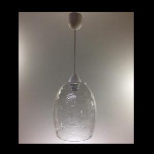 Colgante pera copa cristal