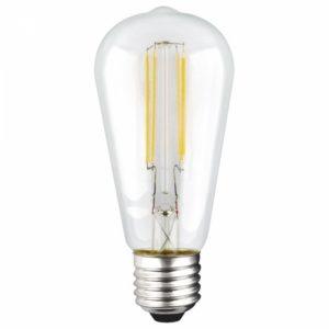 Pebetero LED transparente