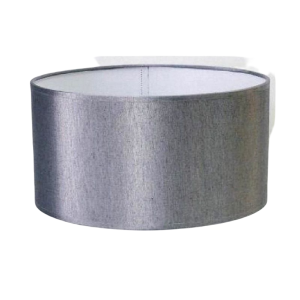 Pantalla cilindro gris