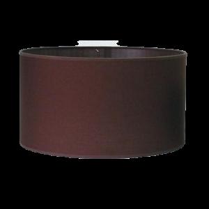Pantalla cilindro marrón