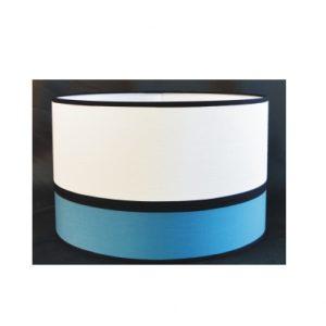 Pantalla Cilindro lino+color